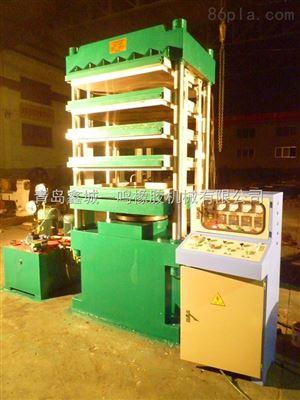 XLB-1.00MN青岛橡胶地砖专用硫化机