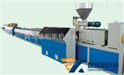 青岛胶州市-SJSZ65/132木塑型材生产线
