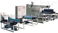 聚乙烯复合丙纶防水卷材生产线设备机器挤出机组塑料机械