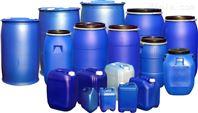 塑料机械生产设备蓝色化工桶设备