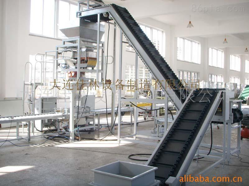颗粒称重包装线-化肥码垛包装线-洗化用品装箱线-自动供给取出机械手