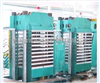鑫城250T柱式多层橡胶平板硫化机